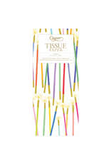 Caspari Party Candles Tissue Paper Package - 4 Sheets