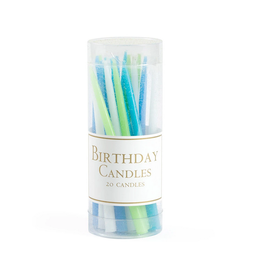 Caspari Birthday Candles - Ocean