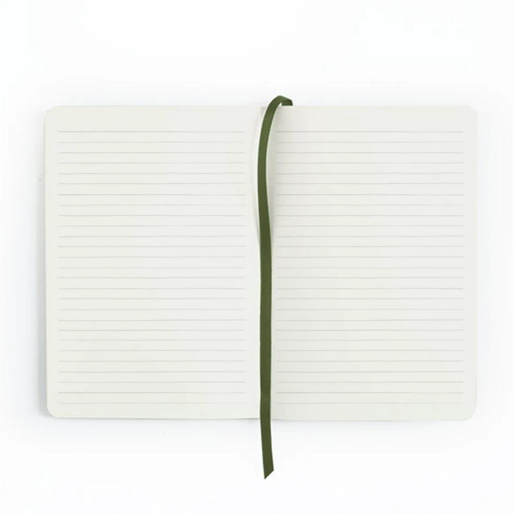 1Canoe2 Golden Poppy Lined Journal
