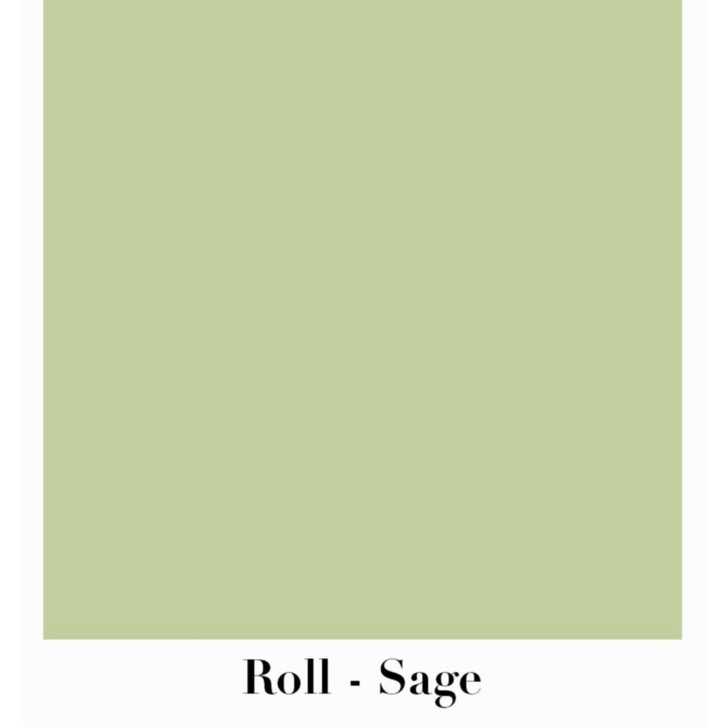 """Waste Not Paper Sage Continuous Roll Gift Wrap - 10'x30"""""""