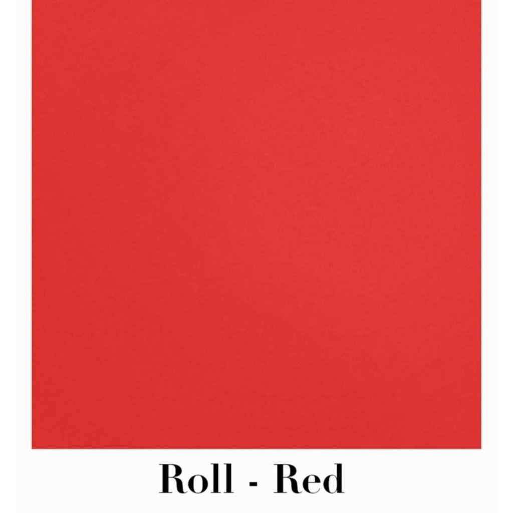 Waste Not Paper Red Continuous Roll Gift Wrap - 10'x30""