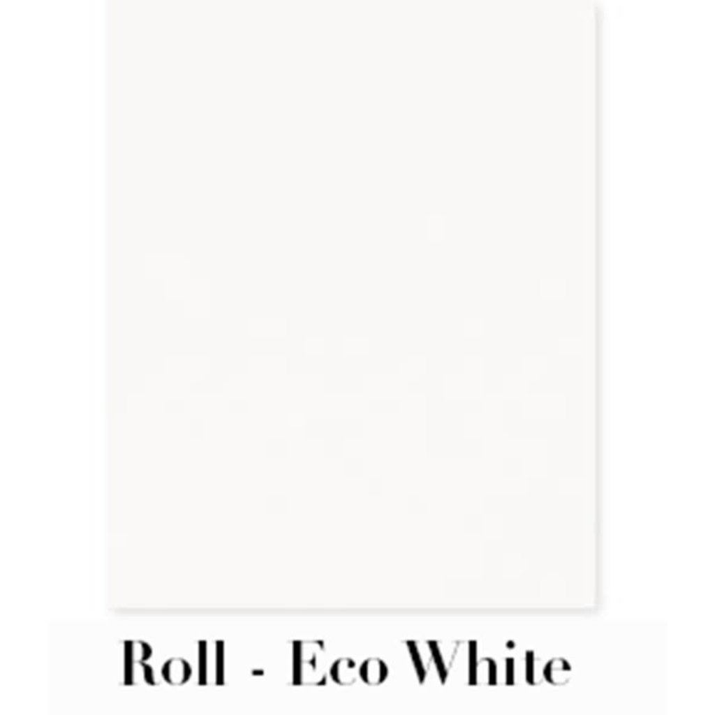 """Waste Not Paper Eco White Continuous Roll Gift Wrap - 10'x30"""""""