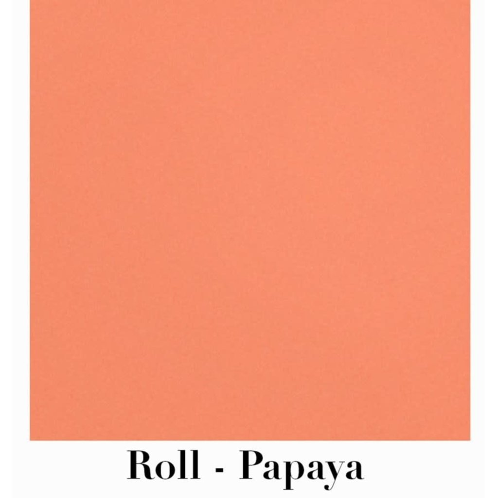 """Waste Not Paper Papaya Continuous Roll Gift Wrap - 10'x30"""""""