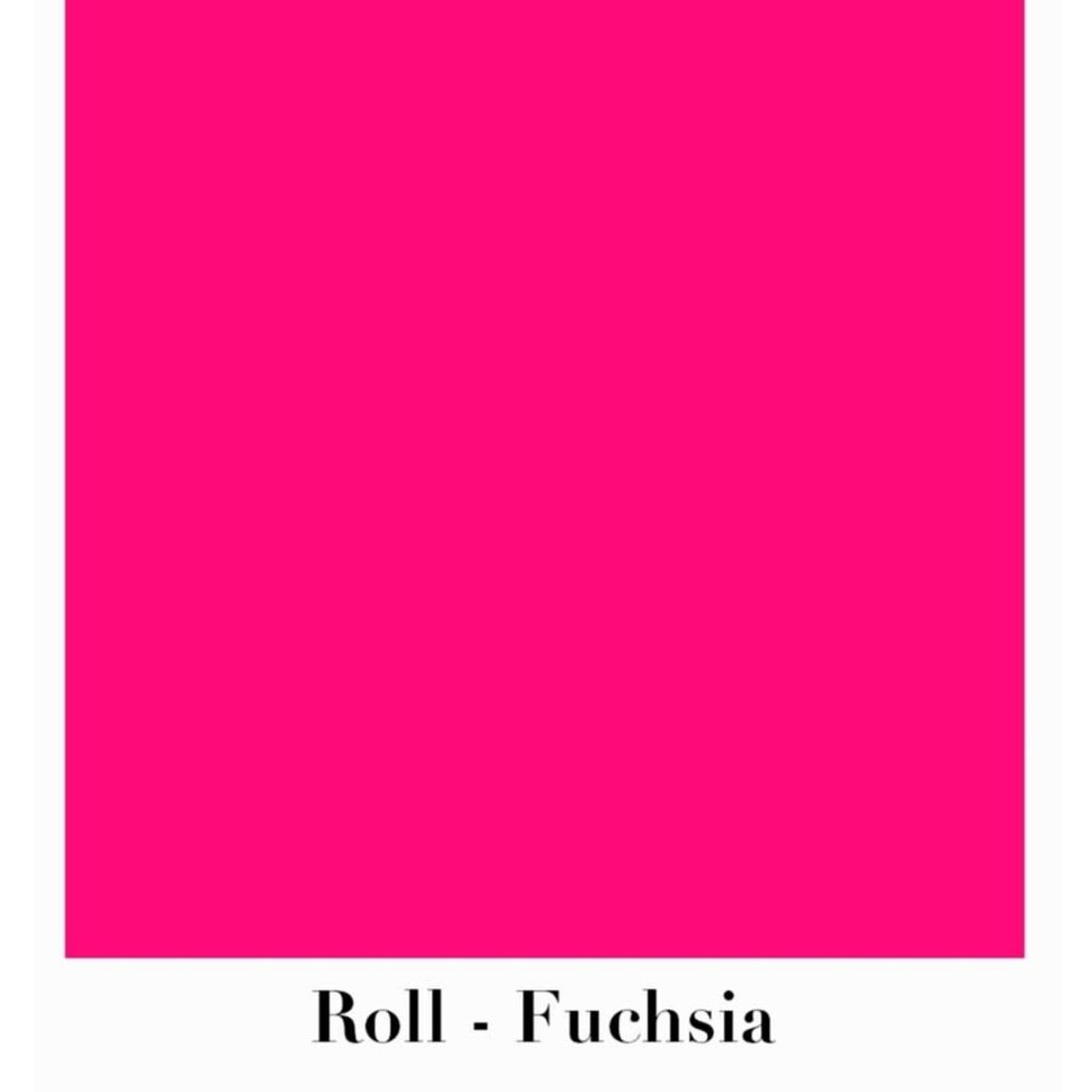 Waste Not Paper Fuchsia Continuous Roll Gift Wrap - 10'x30""