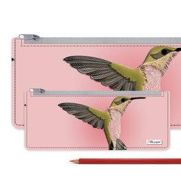 I Like Paper 2.5% Kolibri Hummingbird Paperlike Pencil Case