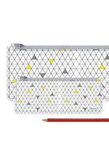 I Like Paper 2.5% Nerdy Geometric Paperlike Pencil Case