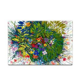 I Like Paper 2.5% Wild Flowers Paperlike Mini Wallet