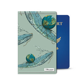 I Like Paper 2.5% Save the Planet Paperlike Passport Holder