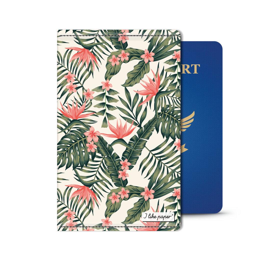I Like Paper 2.5% Paperlike Passport Holder Vintropical