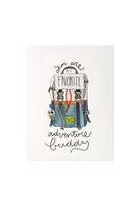 KPB Designs Favorite Adventure Buddy Greeting Card
