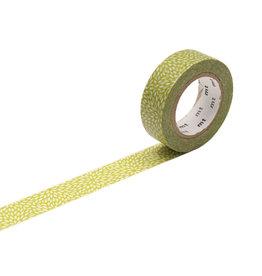 mt Petals Hiwa Green Washi Tape