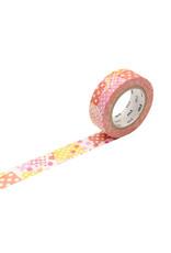 Negapoji Dot Pink Washi Tape