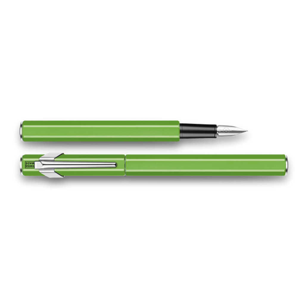 Caran d'Ache Caran d'Ache 849 Green Fluo Fine Nib Fountain Pen