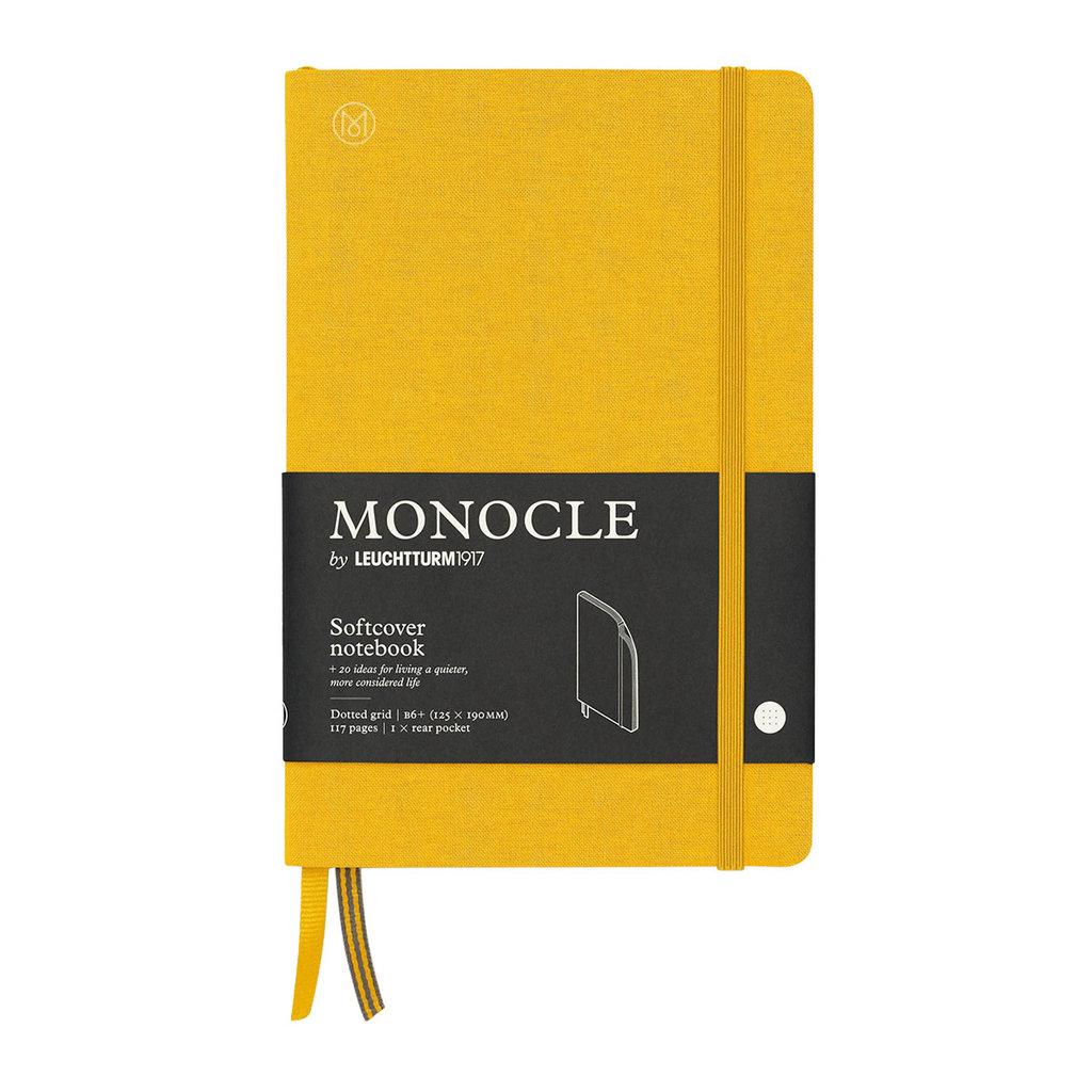 Leuchtturm Monocle Notebook Softcover Medium B6 Yellow Dot