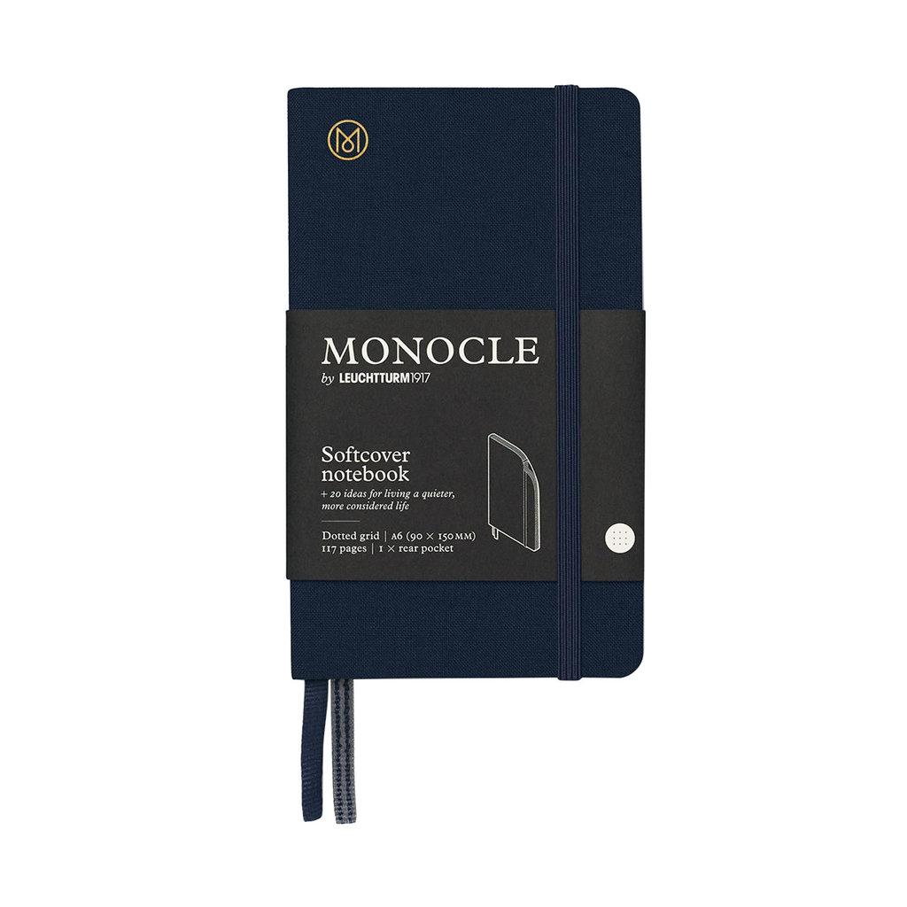 Leuchtturm Monocle Notebook Softcover Pocket A6 Navy Dot