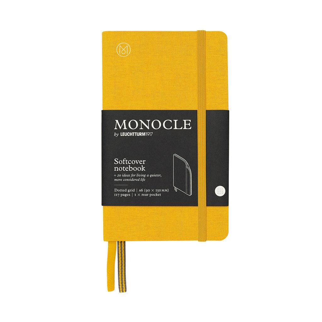 Leuchtturm Monocle Notebook Softcover Pocket A6 Yellow Dot
