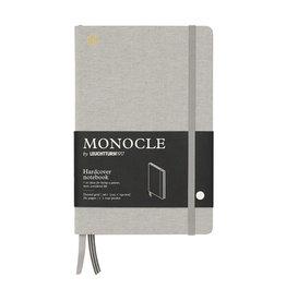 Leuchtturm Monocle Notebook Hardcover Medium B6 Light Grey Dot