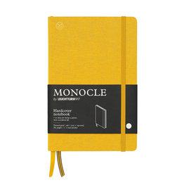 Leuchtturm Monocle Notebook Hardcover Medium B6 Yellow Dot