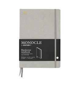 Leuchtturm Monocle Notebook Composition Hardcover B5 Light Grey Dot