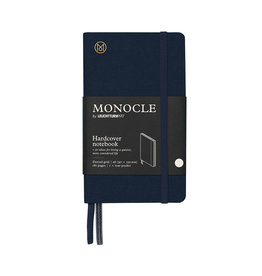 Leuchtturm Monocle Notebook Hardcover Pocket A6 Navy Dot
