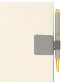 Leuchtturm Monocle Light Grey Pen Loop