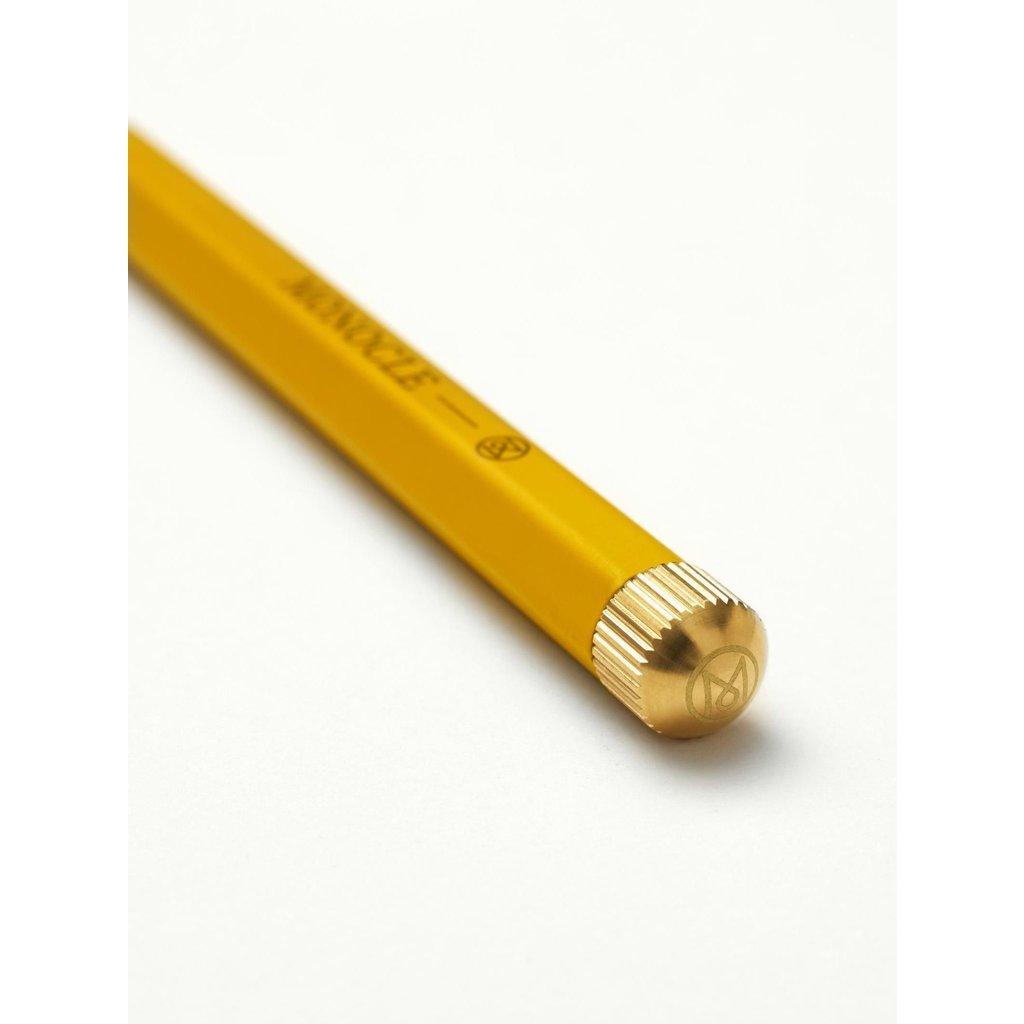 Leuchtturm Monocle Drehgriffel Yellow Ballpoint Pen
