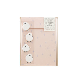 Midori Letter Set Long-Tailed Bird with Stickers