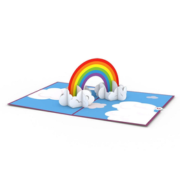 Lovepop Rainbow Pop-Up Card