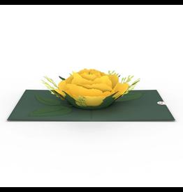 Lovepop Yellow Rose Pop-Up Card