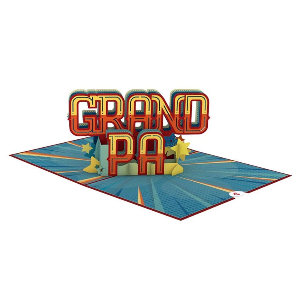 Lovepop Best Grandpa Pop-Up Card
