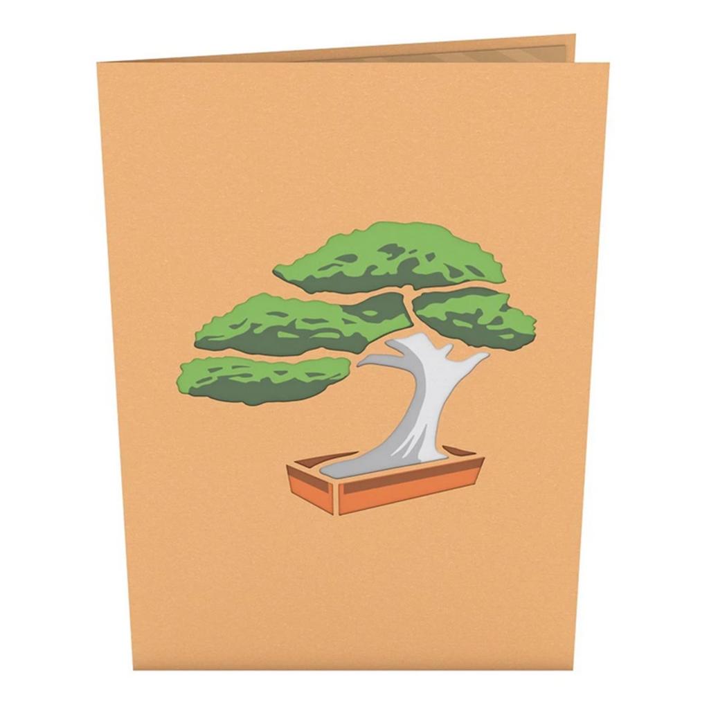 Lovepop Bonsai Tree Pop-Up Card