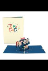 Lovepop To My Dad Pop-Up Card