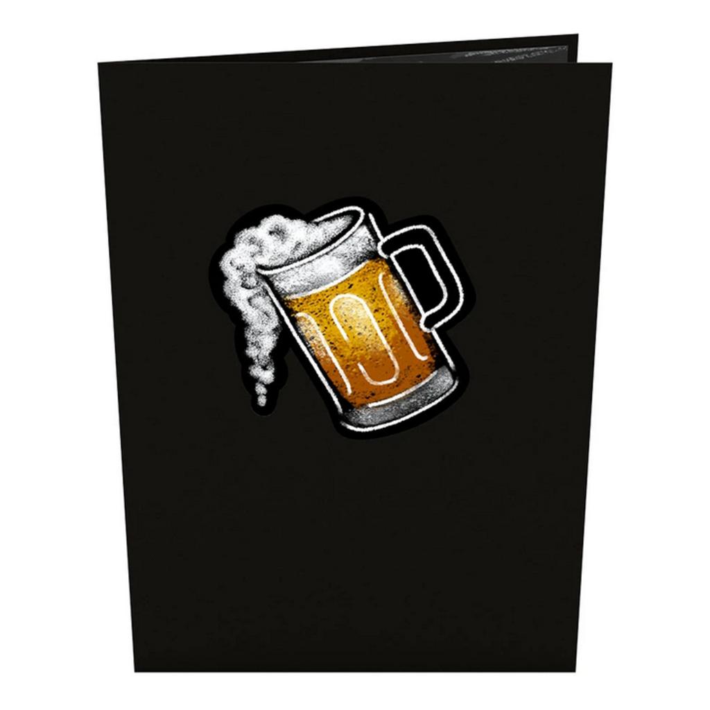 Lovepop Beer Glass Pop-Up Card