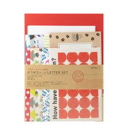Midori Letter Set 763 Variety