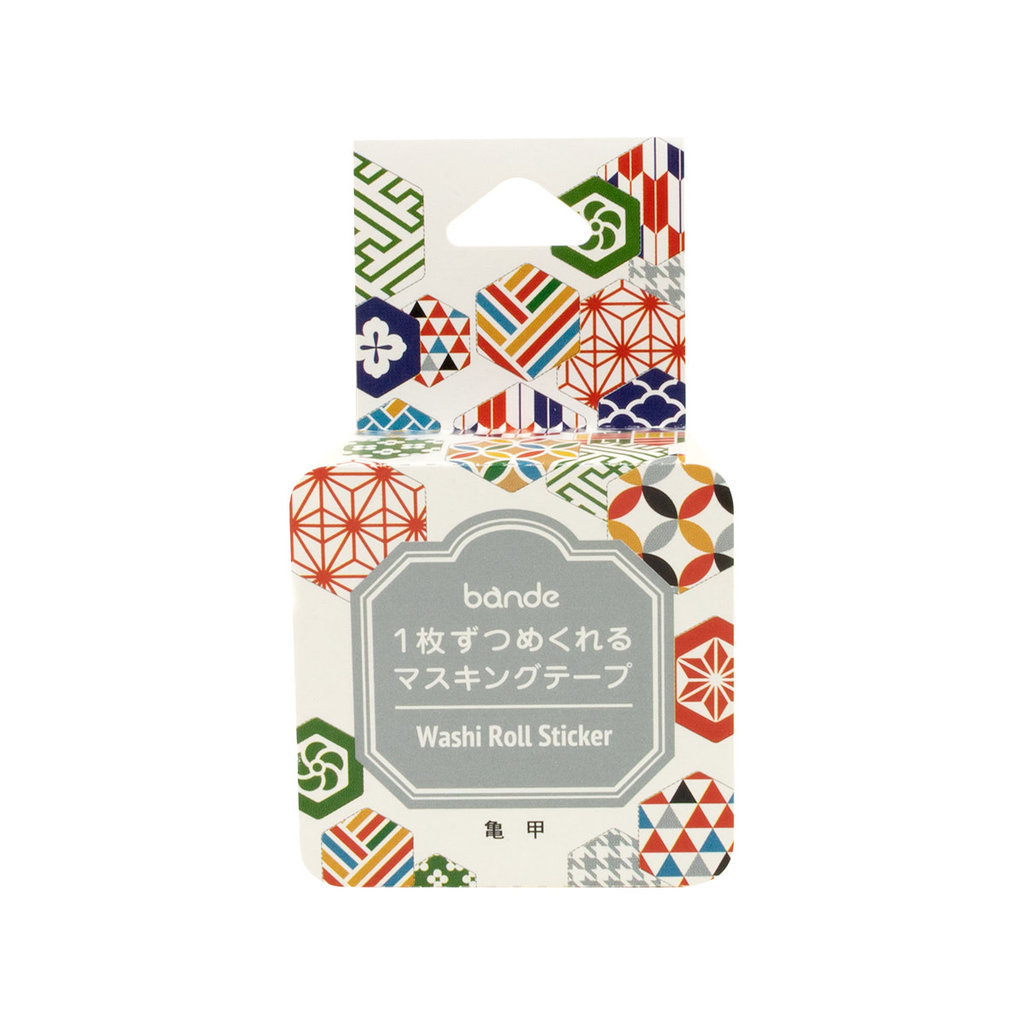 Bande Bande Washi Sticker Roll Tortoise Shell