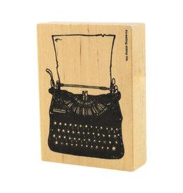 Typewriter Rubber Stamp