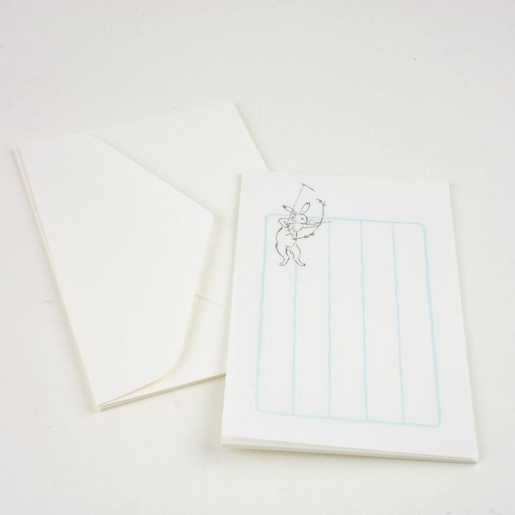 Rabbit Bow & Arrow Mini Letter Set