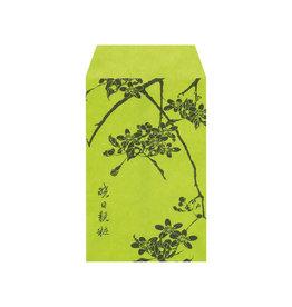 Pochi Bag Green Blossoms