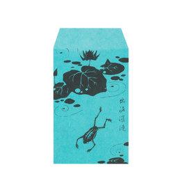 Pochi Bag Blue Frog