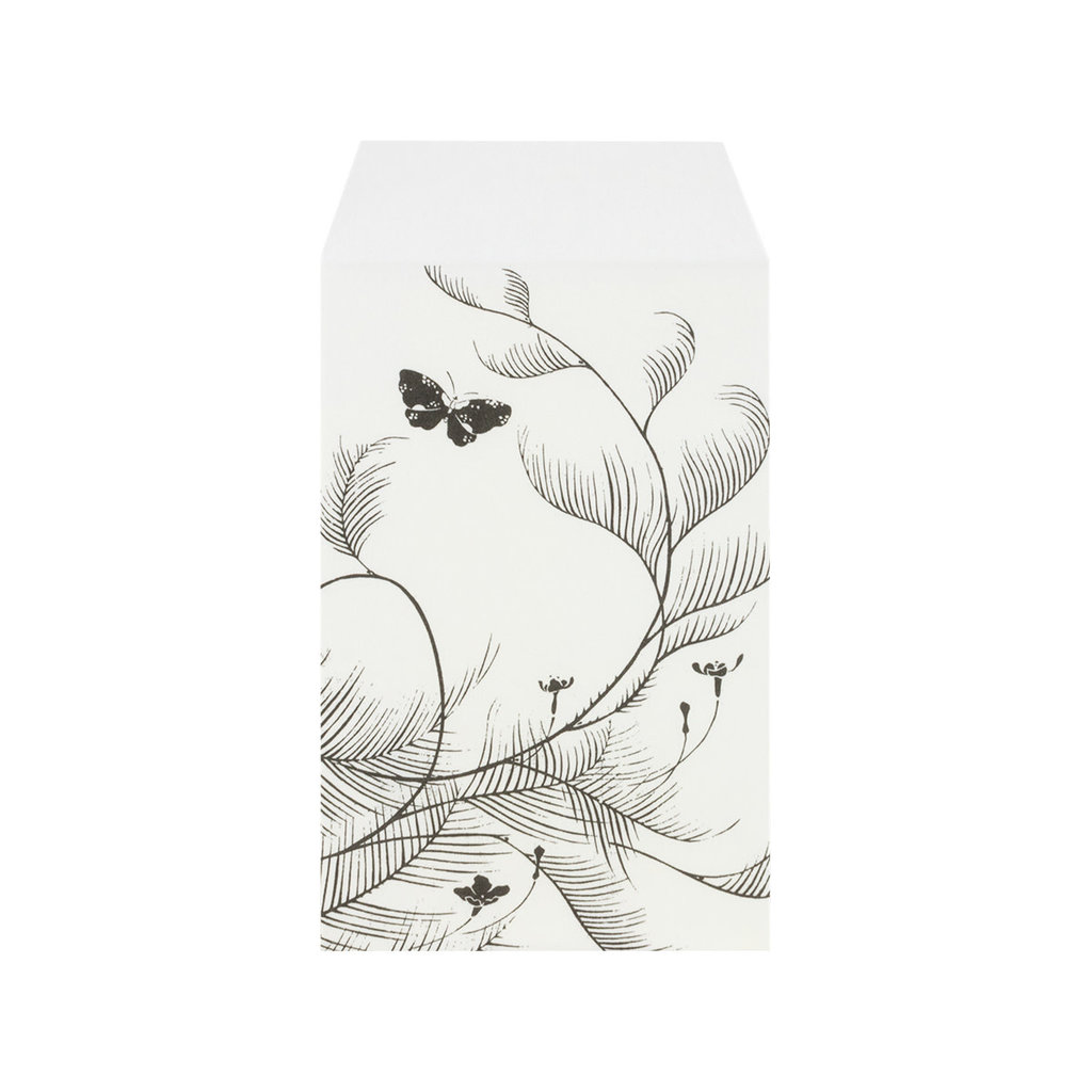Pochi Bag White Butterfly