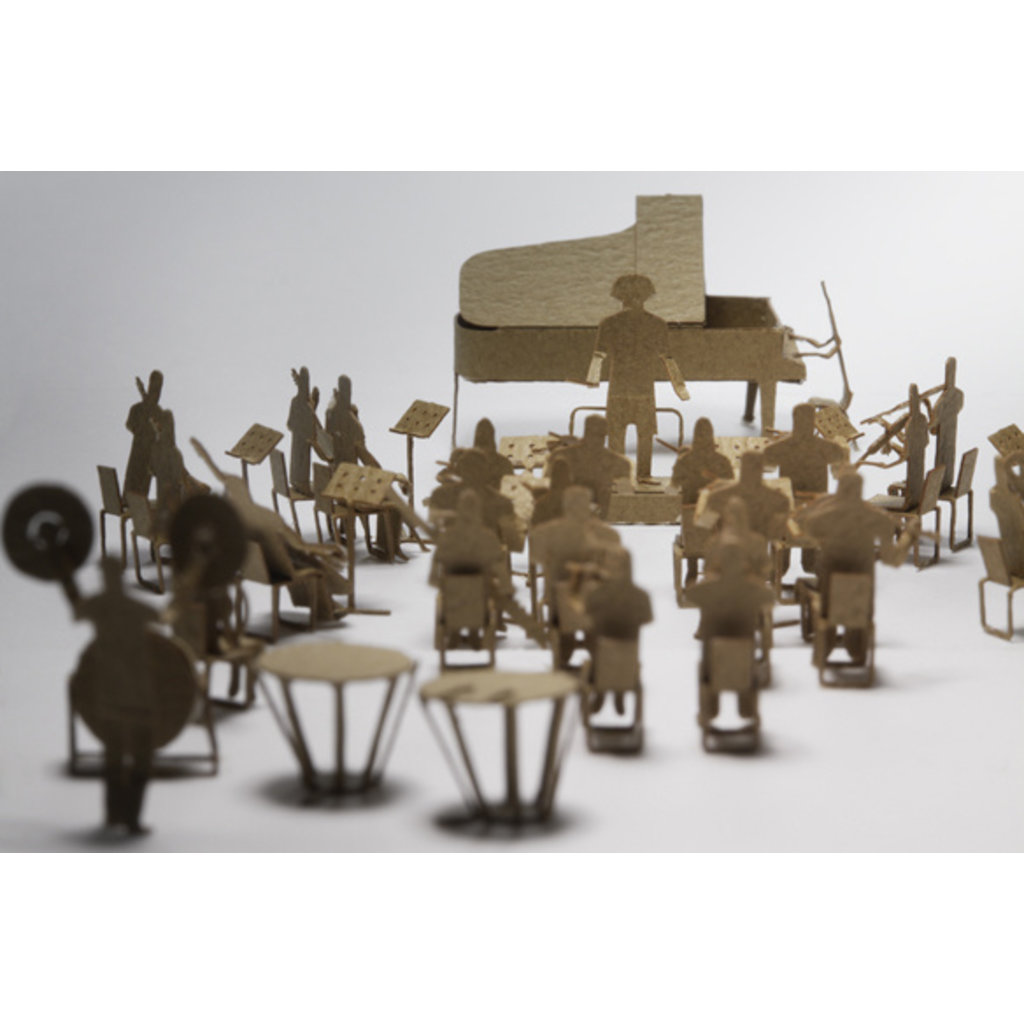 Terada Mokei 1/100 Model Black Orchestra