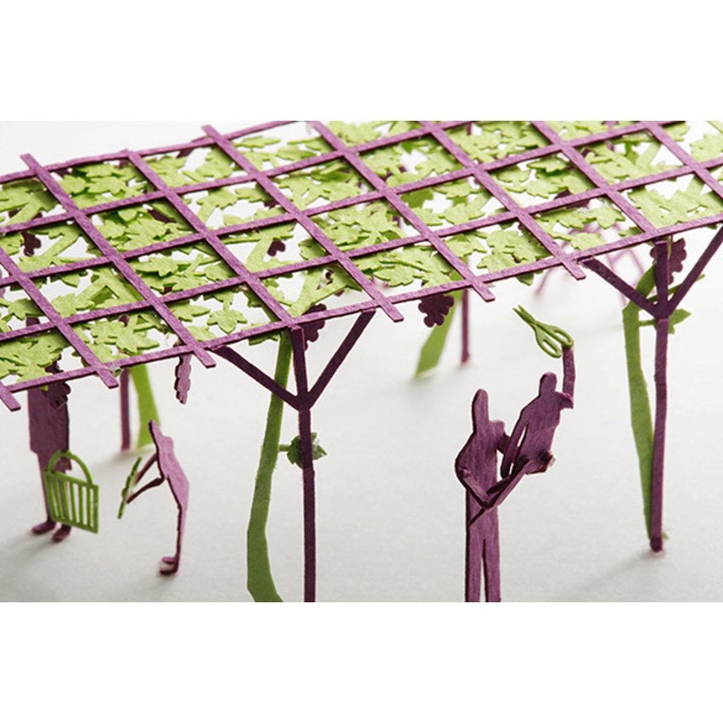 Terada Mokei 1/100 Model Grape Picking