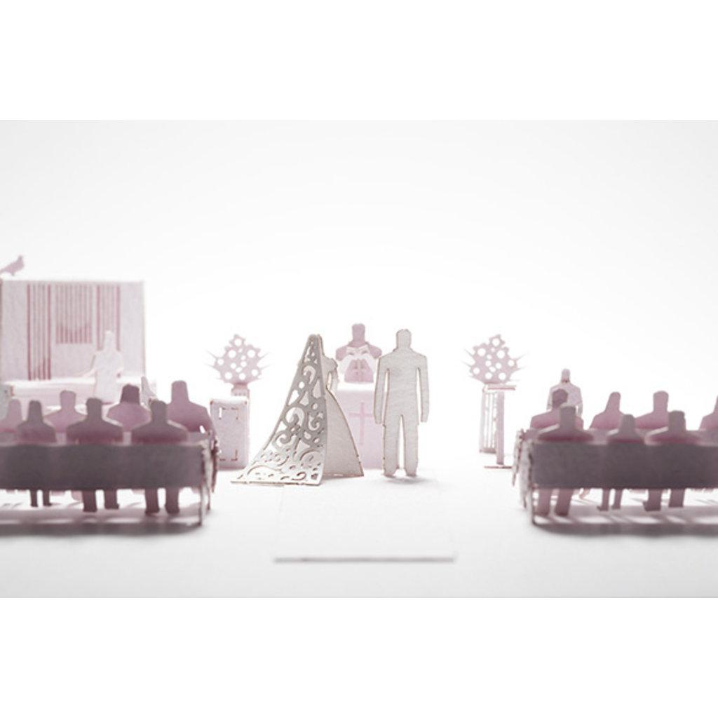 Terada Mokei 1/100 Model Wedding Reception