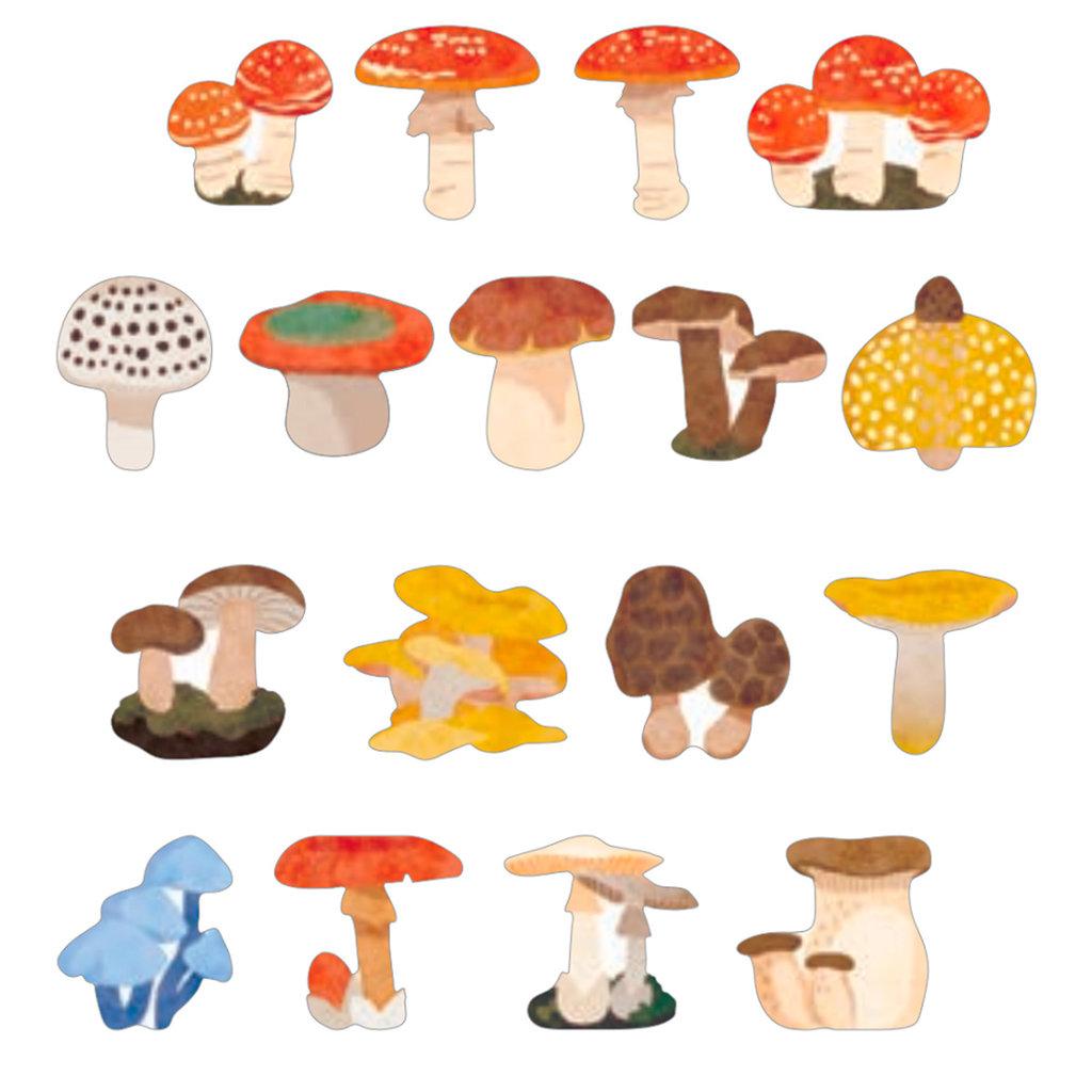 Bande Bande Washi Sticker Roll Mushroom