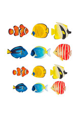 Bande Bande Washi Sticker Roll Tropical Fish