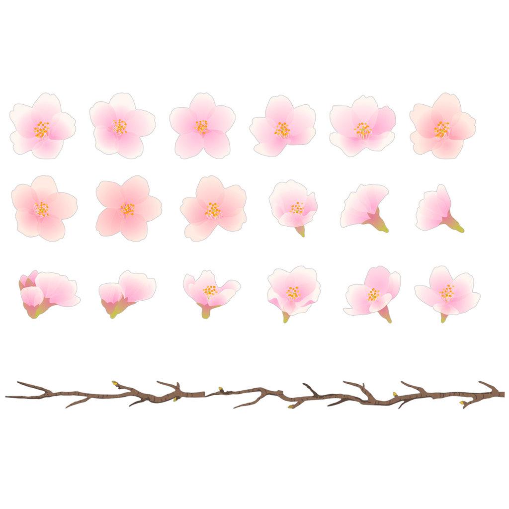 Bande Bande Washi Sticker Roll Cherry Blossom Branches