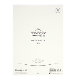 Tomoe River Tomoe River A4 Loose Sheet - Blank Cream 52gsm