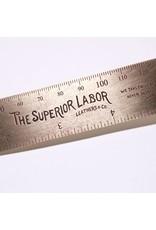 The Superior Labor The Superior Labor Solid Brass 15 cm Ruler