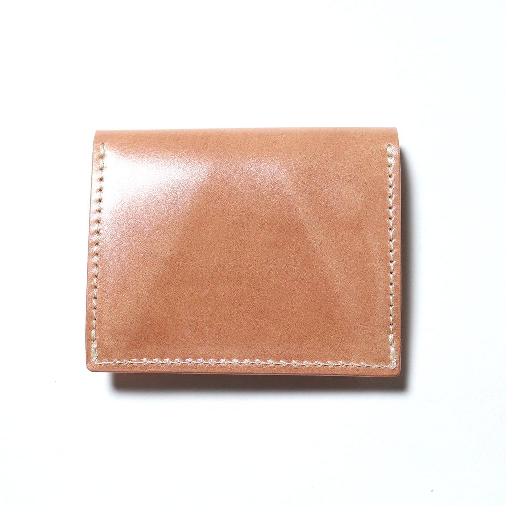 The Superior Labor The Superior Labor Natural Leather Cordovan Coin Pocket
