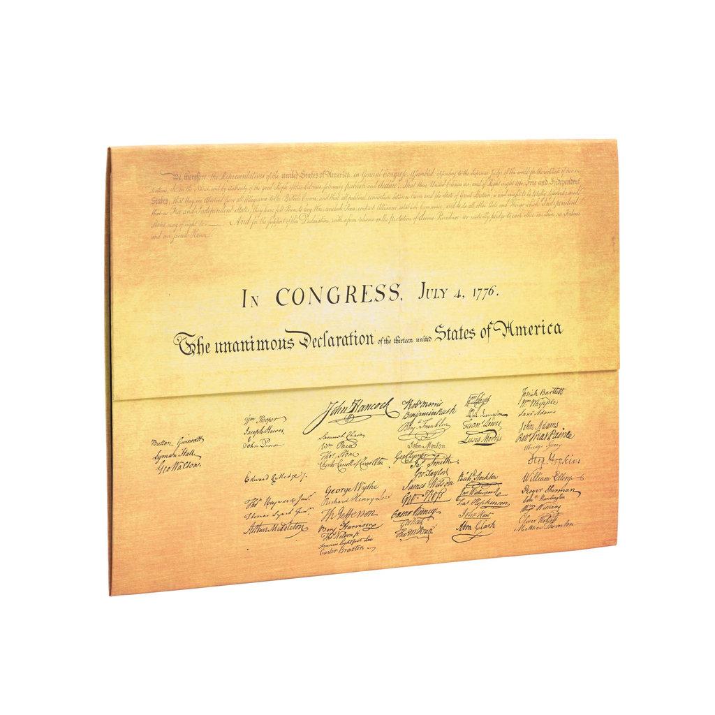 Declaration of Independence Document Folder